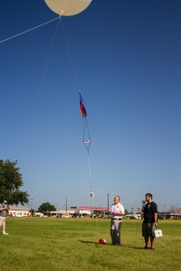 The tethered launch
